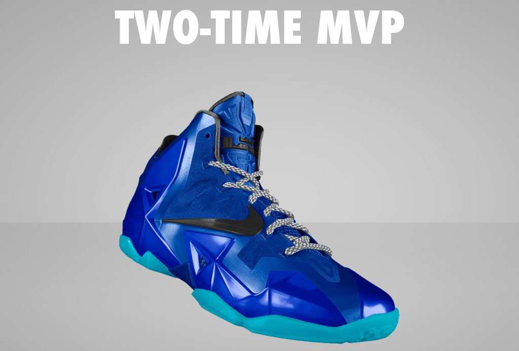 all blue lebron 11