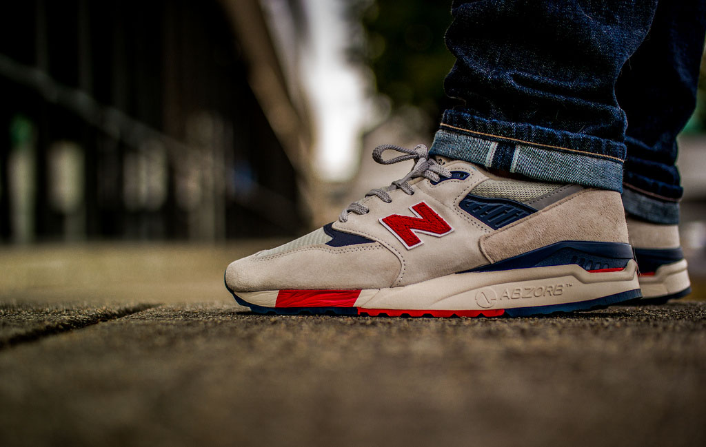 FuzzyDunlop in the 'Independence Day' J. Crew x New Balance 998