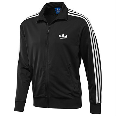 adidas Originals Firebird Track Top Black White