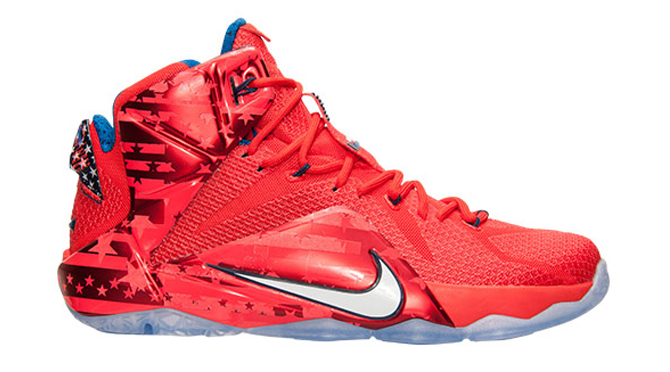Release Date Nike Lebron 12 Usa Sole Collector