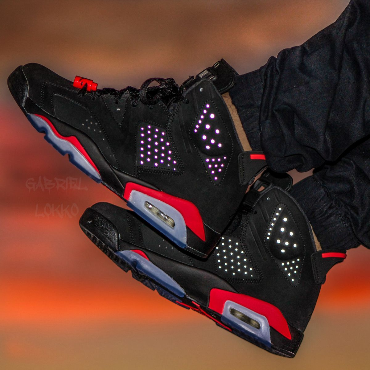Air Jordan 6 'Black/Infrared'