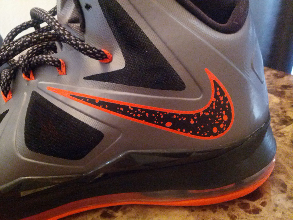 Nike LeBron X 10 Silver Black Orange Mango (6)