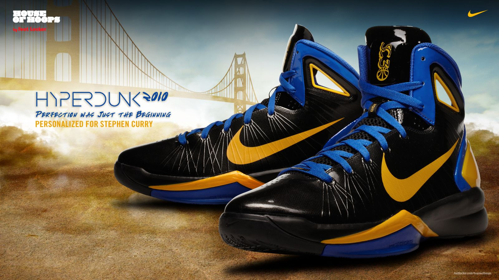 Nike Hyperdunk 2010 Stephen Curry Away Player Edition HoH