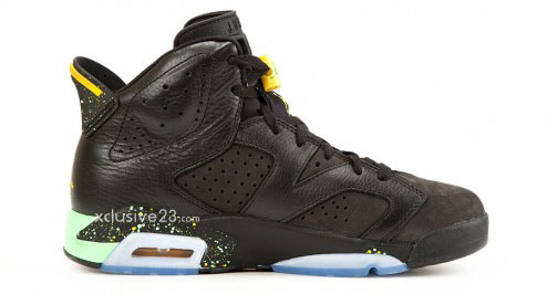 Air Jordan VI 6 Retro - Brazil World Cup (2)