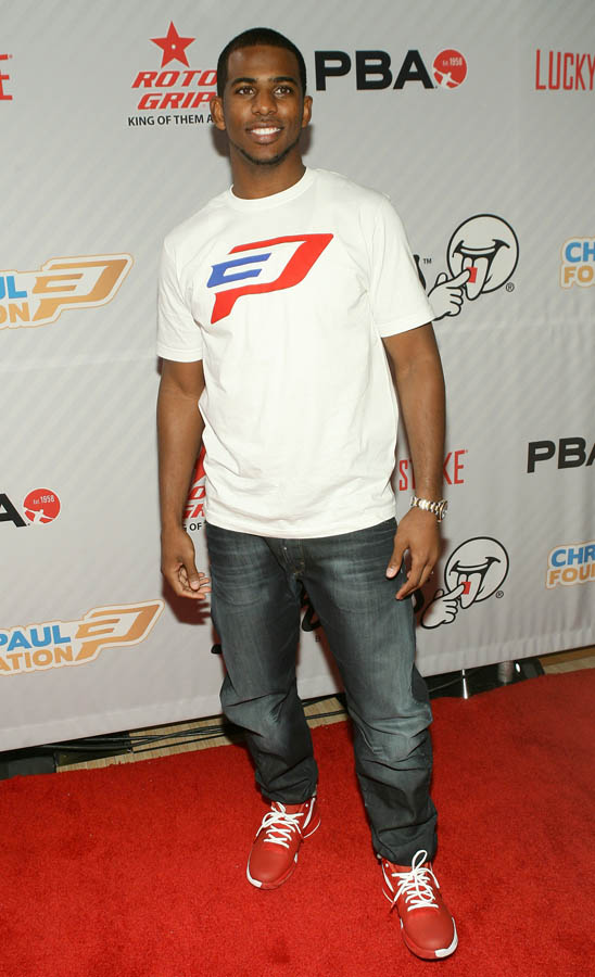 Chris Paul PBA Celebrity Bowling Tournament 2012 - Chris Paul