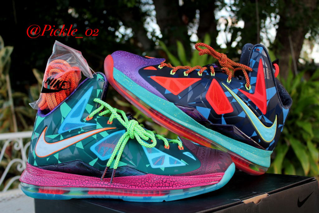 Spotlight // Pickups of the Week 7.28.13 - Nike LeBron X What the MVP by Pickle