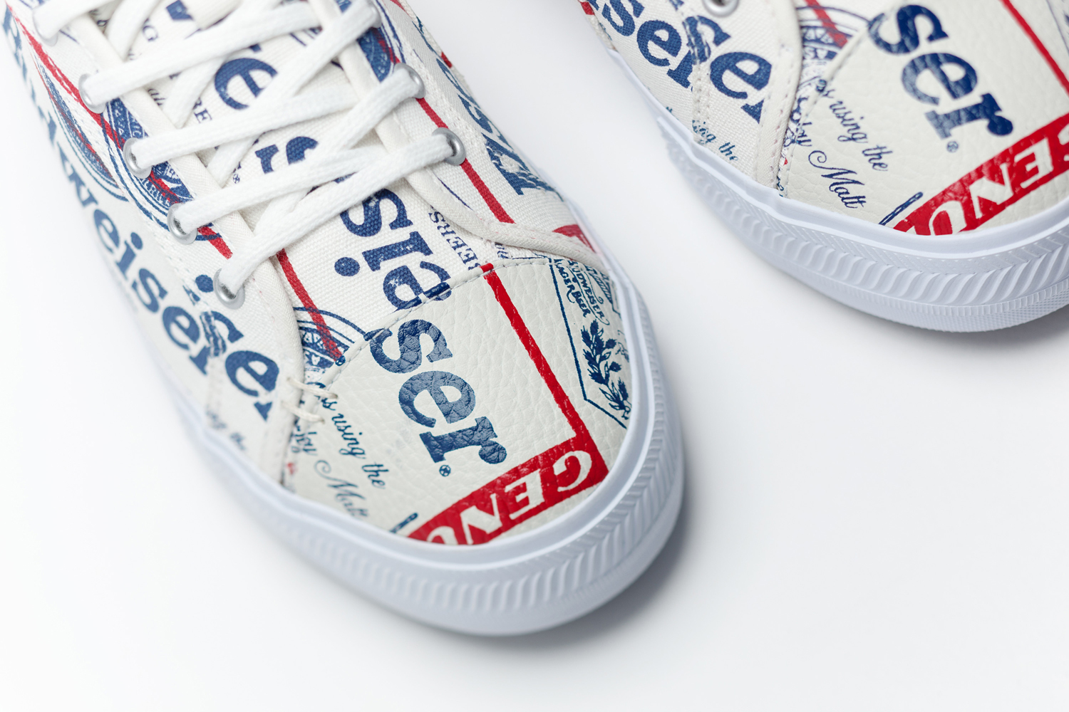 Budweiser Greats Made in America Sneakers 01