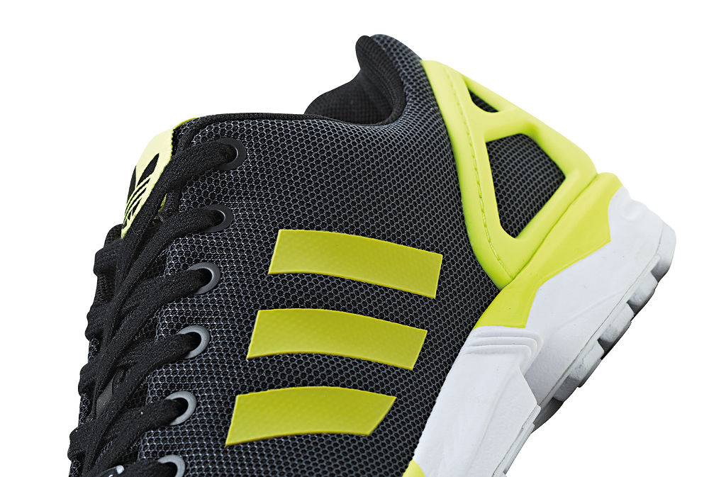 huge discount ca690 c35a5 adidas ZX Flux Base Pack Grey Yellow (2)