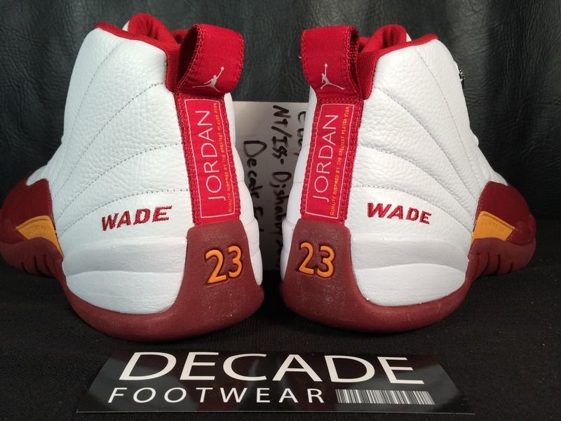 cheaper 68075 eaa0c Dwyane Wade Air Jordan 12 Miami Heat PE (2009)