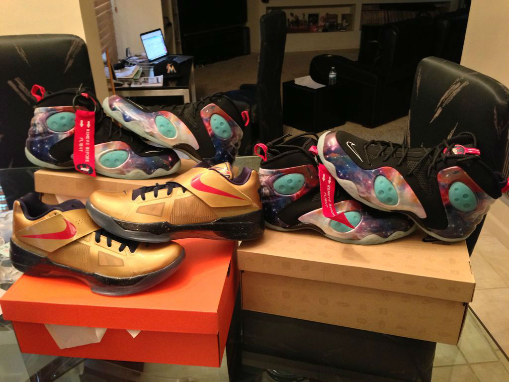 Sole Collector x Nike Zoom Rookie Galaxy Release Recap - ufbaseball15