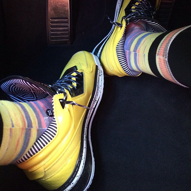 Li-Ning Way of Wade 2 Yellow