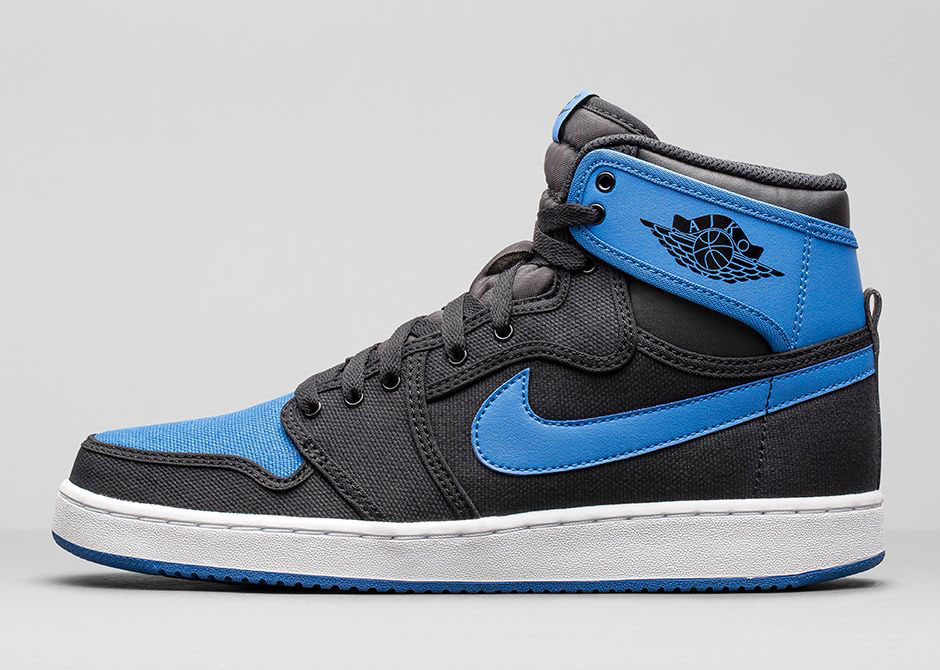 nike jordan blue black
