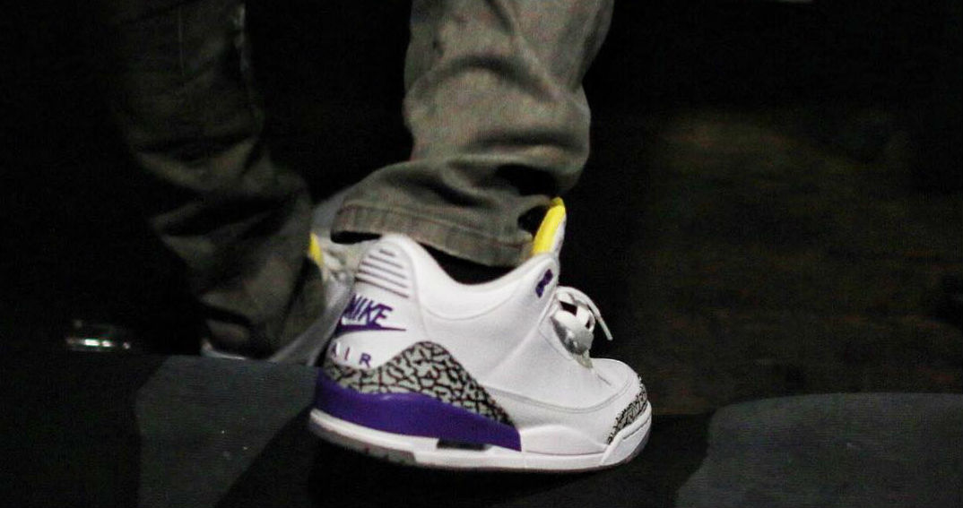Latest Air Jordan 3 Retro Kobe Shoes