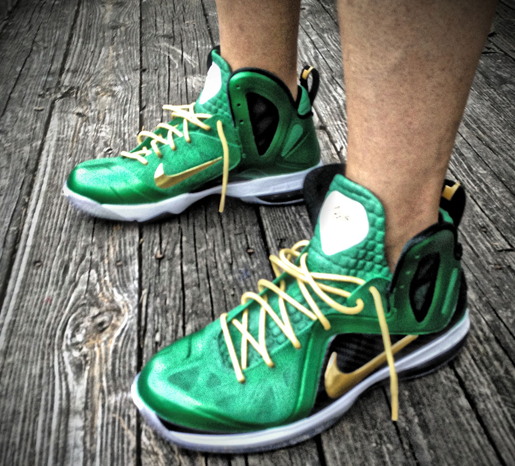factory price 4e4cd c5003 Nike LeBron 9 P.S. Elite SVSM by Mache Custom Kicks (3)