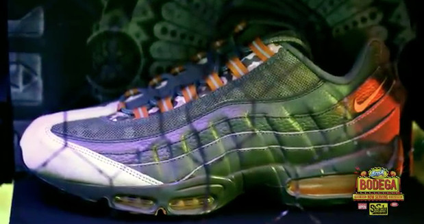 cc90d4feb2e Em s manager and Shady Records co-founder Paul Rosenberg designed his own  Air Max 95 for the Charity Air Max series