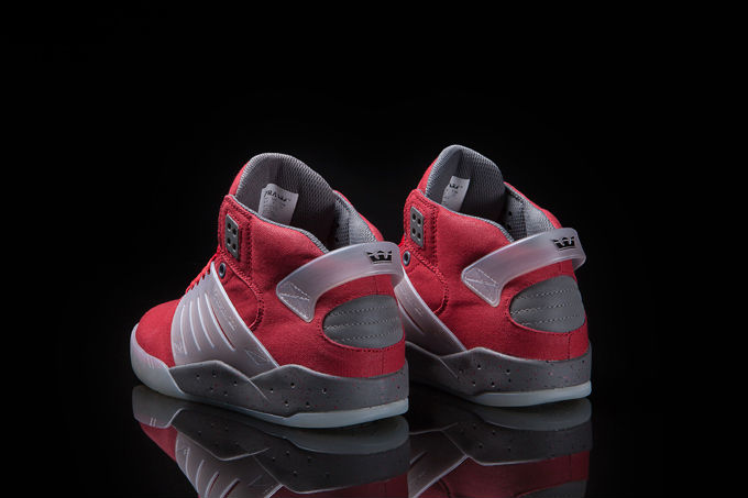 Supra Skytop III Red Waxed Canvas (4)