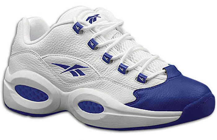 Reebok Question Low White/Royal