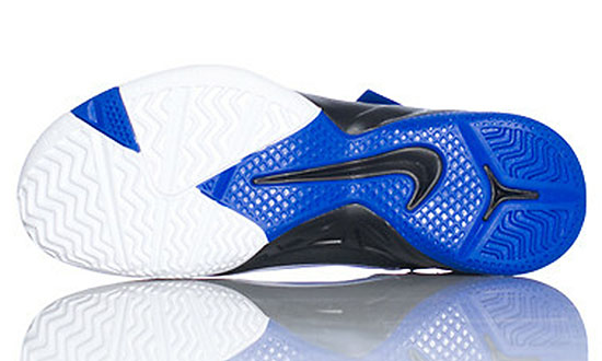 Nike Zoom Soldier VI White Black Blue 525015-100 (4)