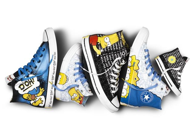 The Simpsons X Converse Chuck Taylor All Star Collection Sole