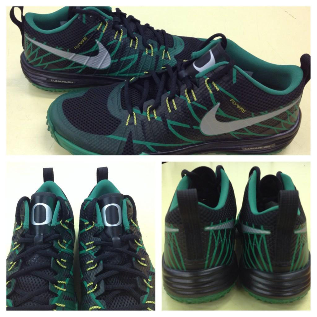 quality design 1eabd a8ad6 Nike Lunar TR1 Oregon Ducks