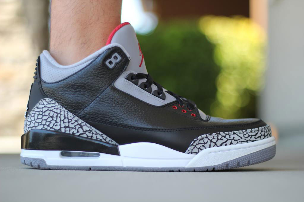Spotlight // Forum Staff Weekly WDYWT? - 8.10.13 - Air Jordan III 3 Retro Black Cement by MJO23DAN