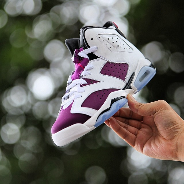 eabfeeeecd05 Air Jordan VI 6 GS Grape Release Date 543390-127 (6)
