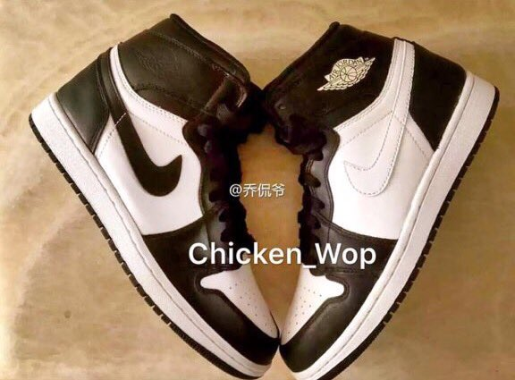 Air Jordan 1 Retro High OG Black White February Release