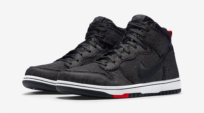 Nike Released Its Latest Denim Dunks