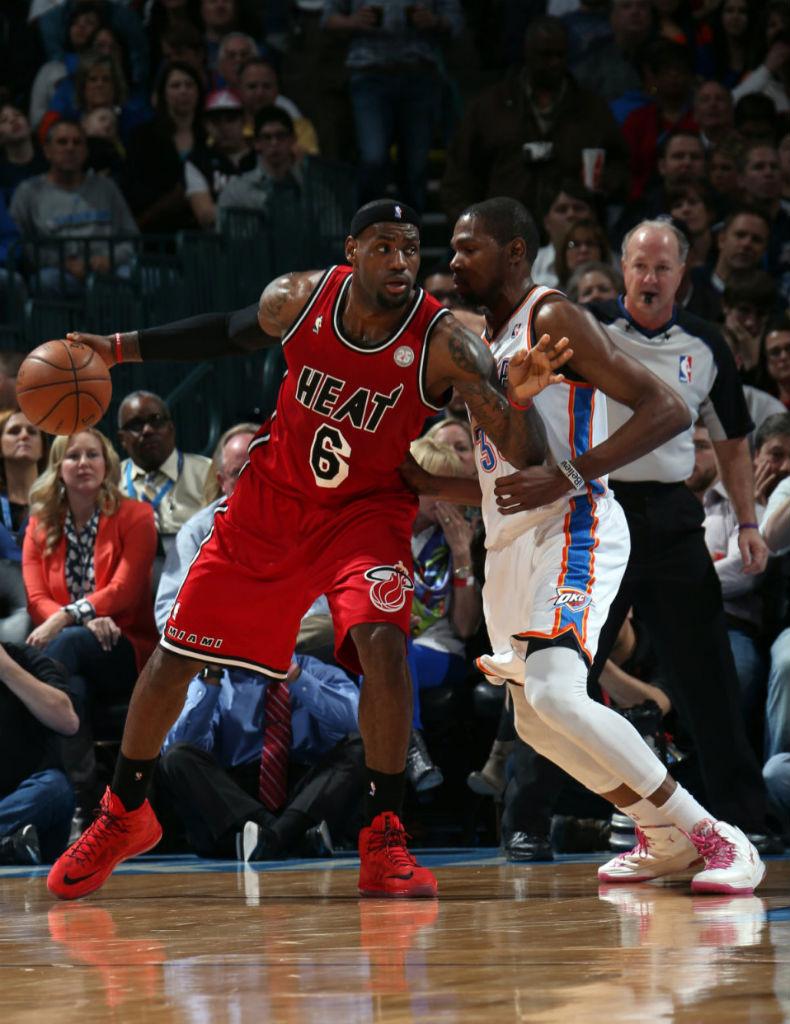 655f56e56c24 LeBron James wearing Nike LeBron X Red Suede (5)