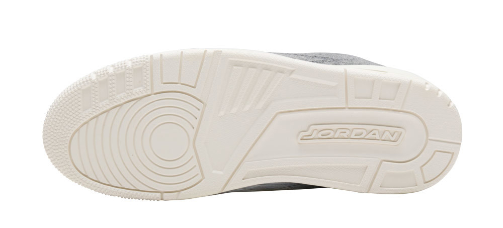 Wool Air Jordan 3 854263-004 Sole