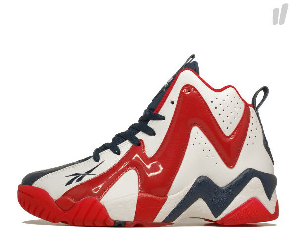 Reebok Kamikaze II White Red Navy V46096 (1)