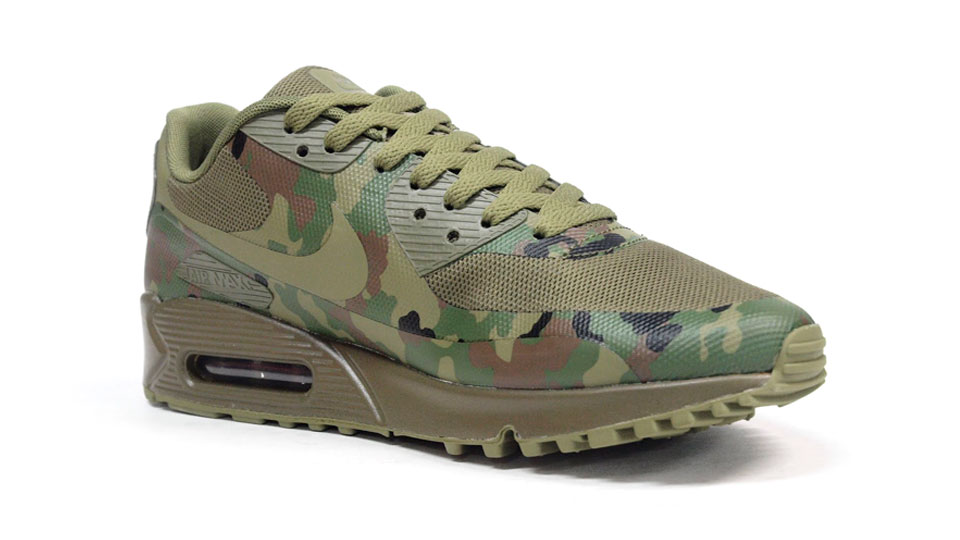 Nike Air Max 90 Camouflage Army Green
