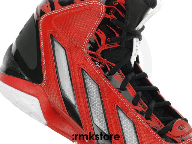 check out 8e7d5 6b0ca adidas adipower Howard 3 Light Scarlet Running White Black G47369 (4)