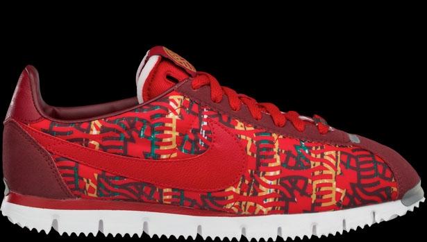 Nike Cortez NM Premium YOTH QS Team Red/Gym Red-Summit White-Pine Green
