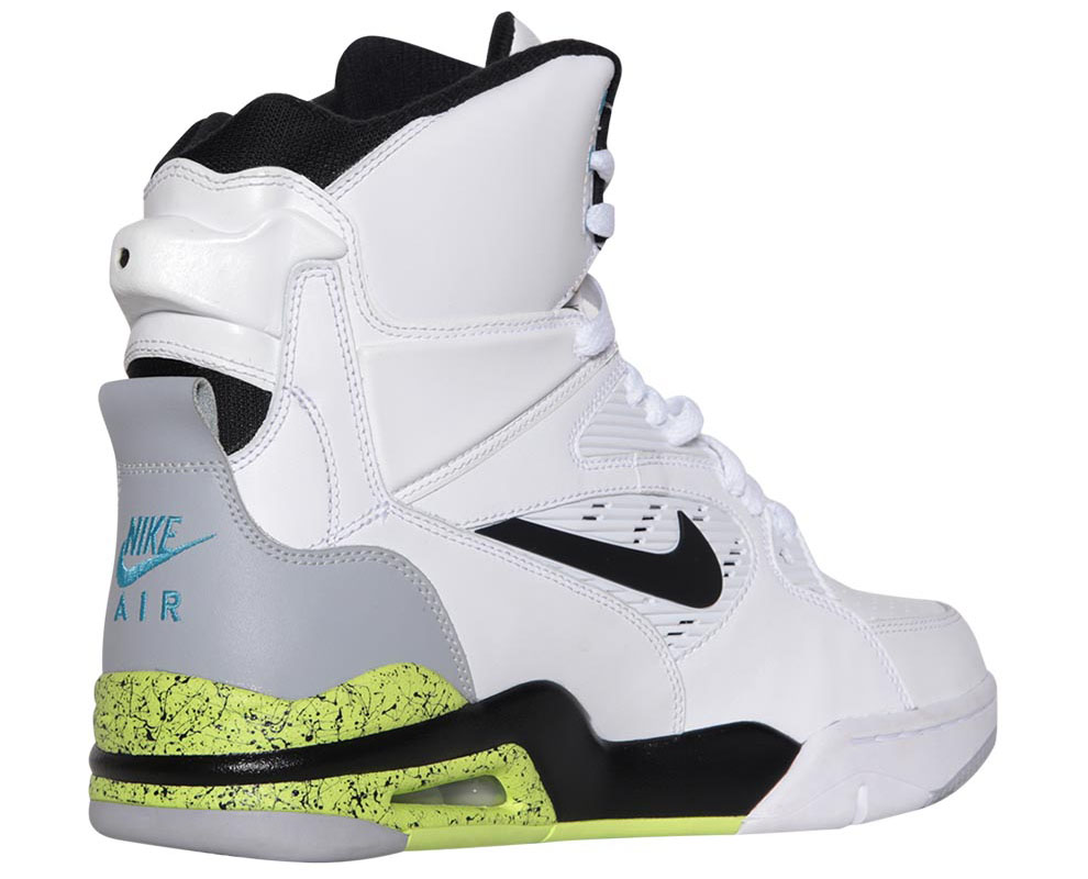 Nike Air Command Force White/Wolf Grey-Volt-Black Billy Hoyle Release Date 684715-100 (5)