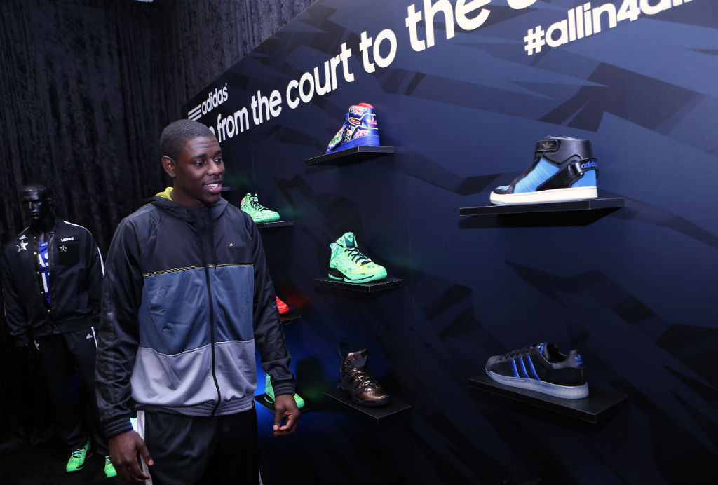 adidas Basketball Athletes Celebrate NBA All-Star // Jrue Holiday (3)