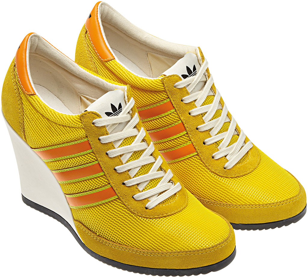 adidas Originals JS Arrow Wedge Yellow Orange G61075 (2)
