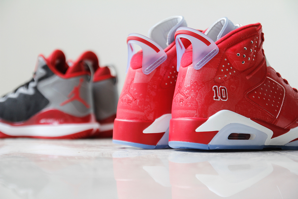 dde6cf62534088 A Detailed Look at the Slam Dunk Air Jordan 6 Retro and Super.Fly 3 ...