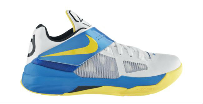 Top 24 KD IV Colorways for Kevin Durant's 24th Birthday // White Tour Yellow Photo Blue