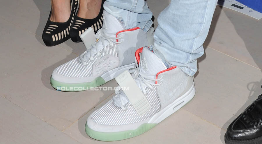 Nike Air Yeezy 2 Kanye West Shoes Zen Grey (5)