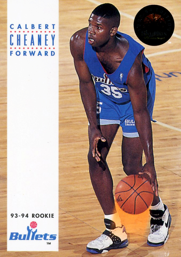 premium selection 6f1ac 2a781 Kicks on Cards Card of the Week with Calbert Cheaney in the Nike Air Force  Max