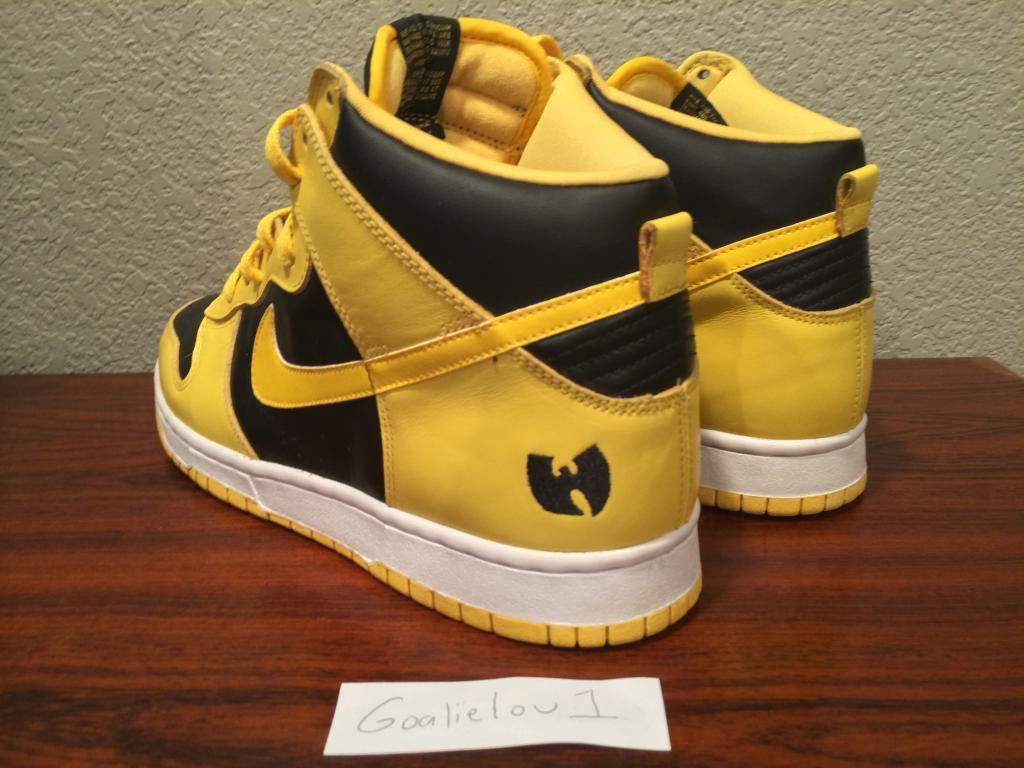low priced 75440 68cdf Nike Dunk High Wu-Tang (3)
