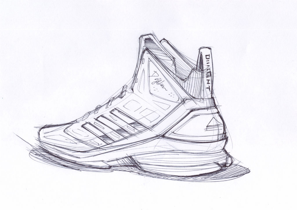 Sketch Work // adidas D Howard Light (2)