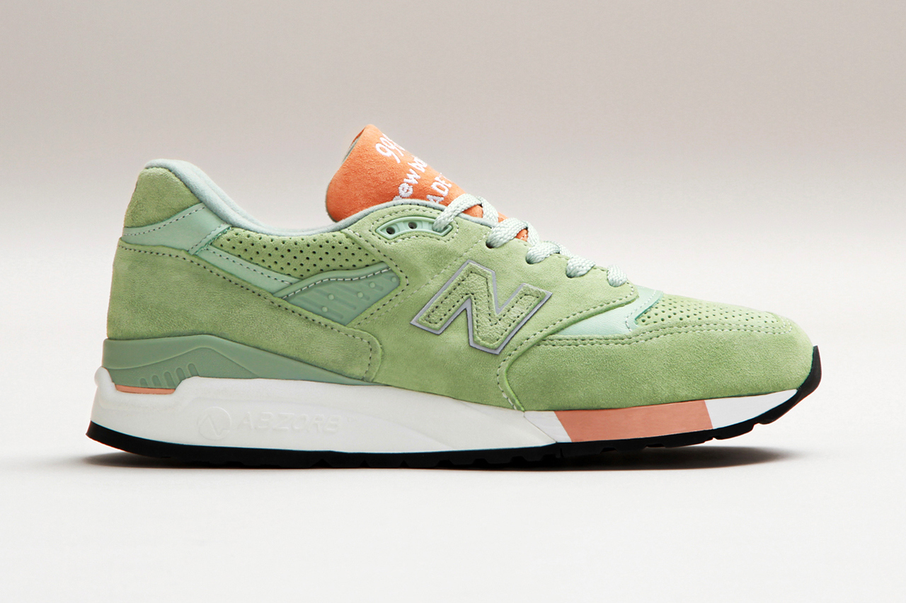 Cncpts x New Balance Made in USA M998TNY Tannery colorway