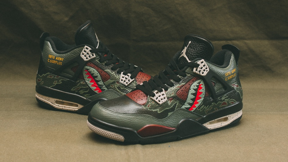 4384c2cce4c0 An OG Sneaker Customizer Remixes the Air Jordan 3 and 4