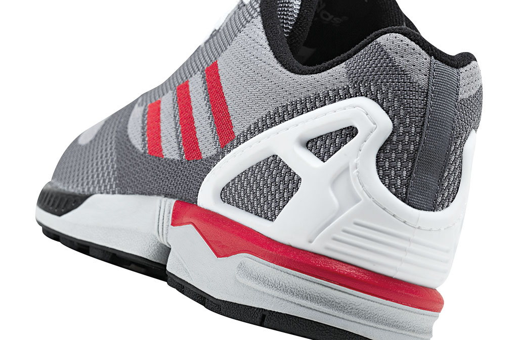 adidas ZX Flux 8000 Weave Pack Grey Red White (4)