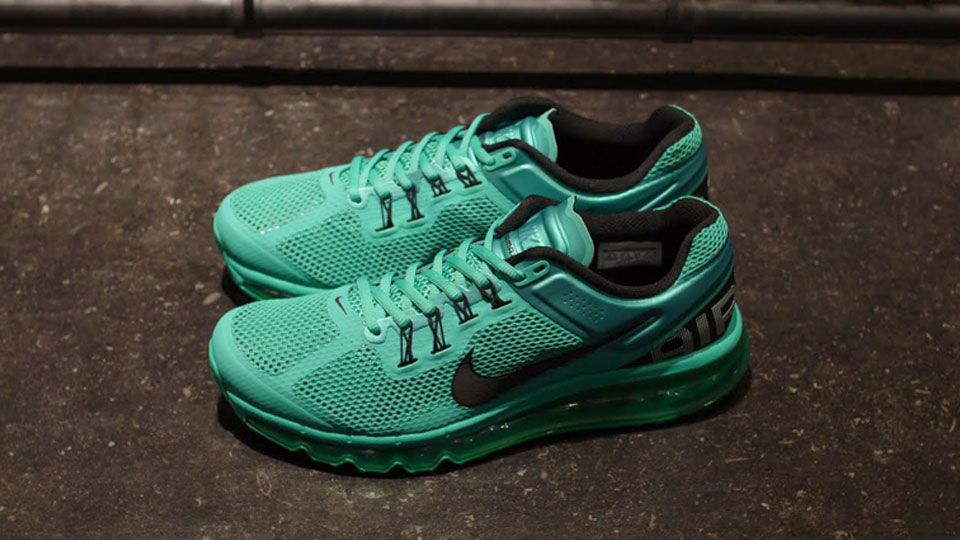 emerald green nike air max 2013