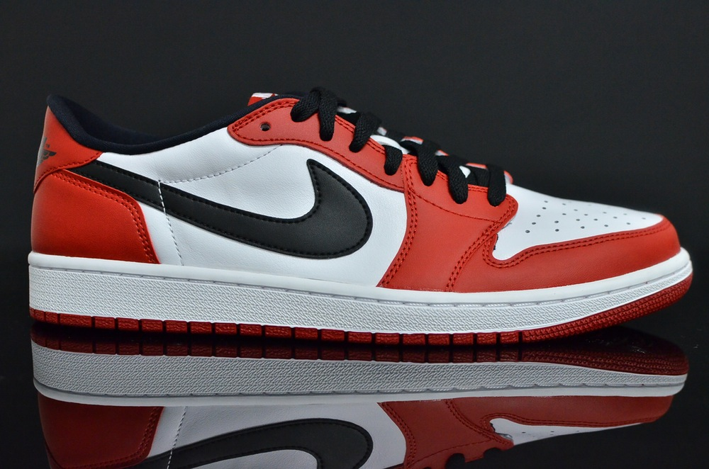 check out fdb7f 33093 Air Jordan 1 Low Chicago 705329-600 (1)