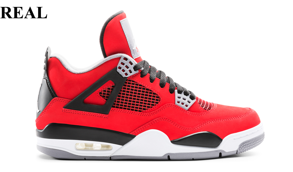 Real Or Fake Retro S: Buyer Beware : 10 Sneakers We Can't Believe Are Fake