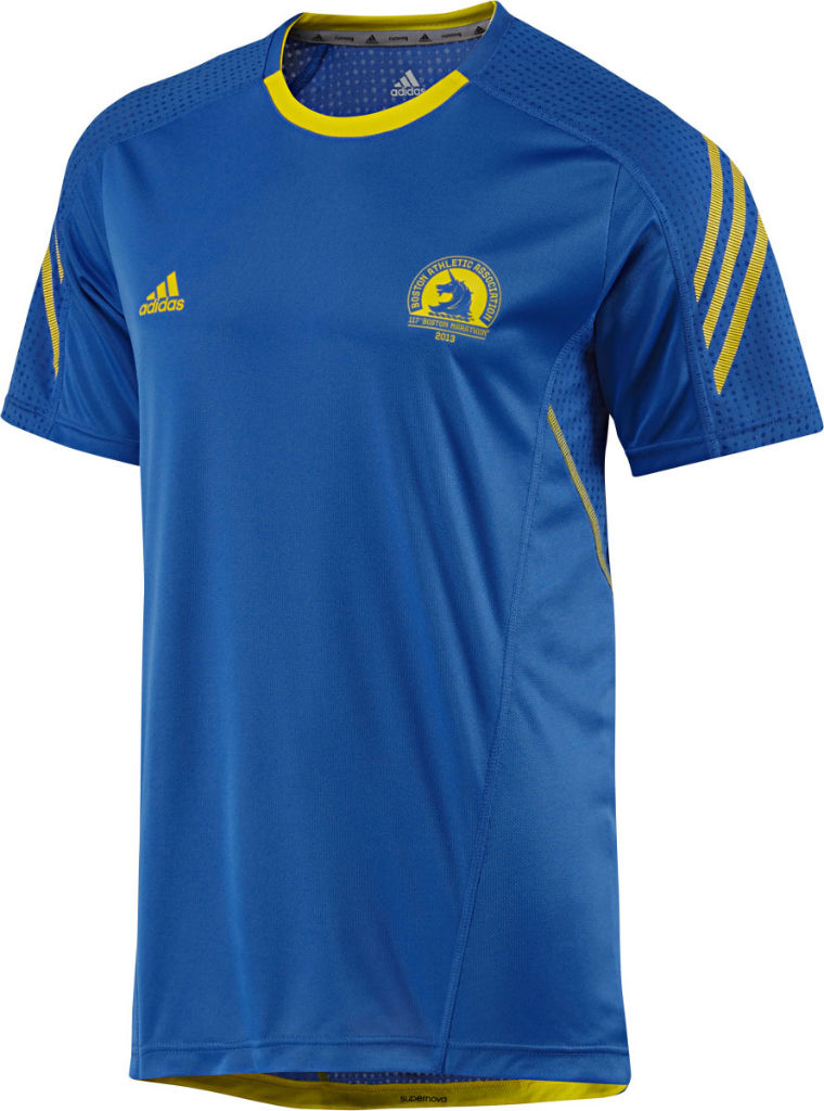 adidas 2013 Boston Marathon Collection Supernova Short Sleeve Top Men's